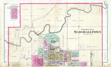 Marshalltown - North, Marshall County 1885
